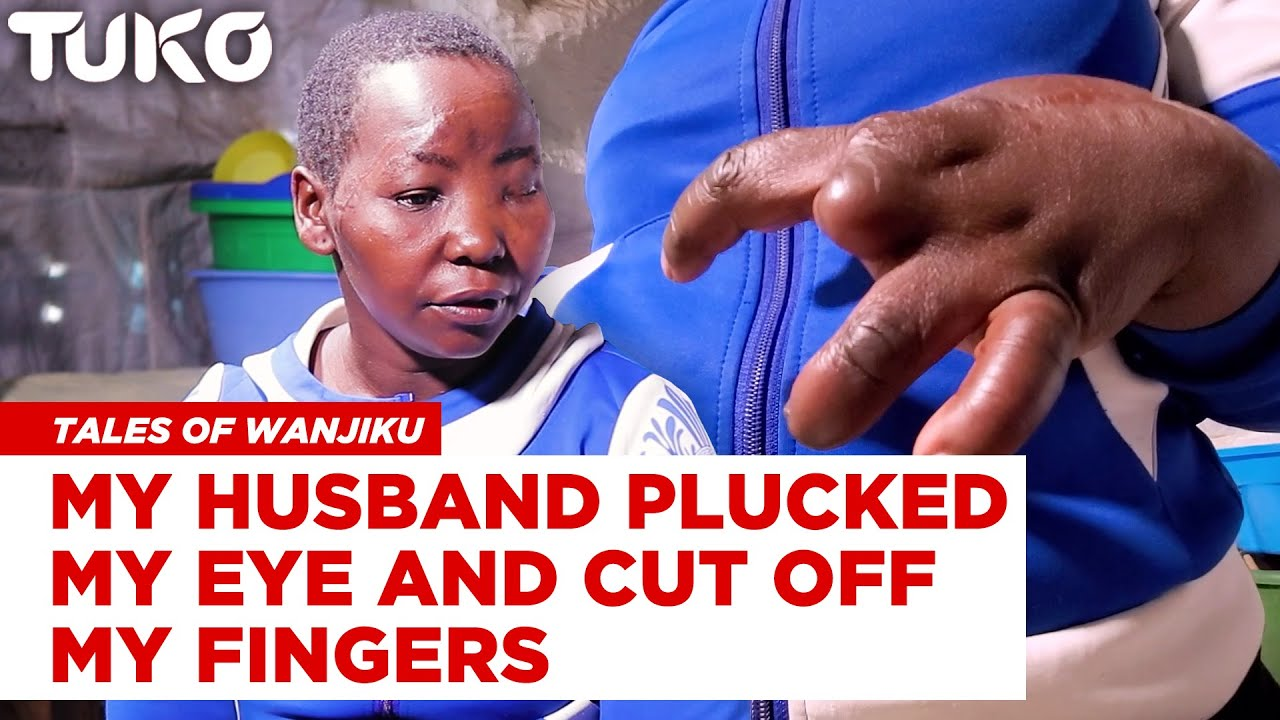 My husband plucked off my eye and fingers, was forced to call him God to save myself - Moureen Omolo