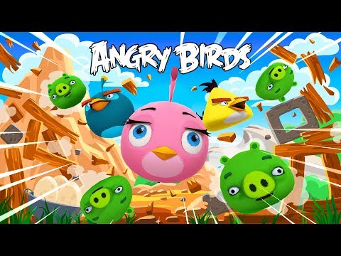 LITTLE KELLY THE PINK ANGRY BIRD !!! Minecraft w/ Sharky and Little Kelly