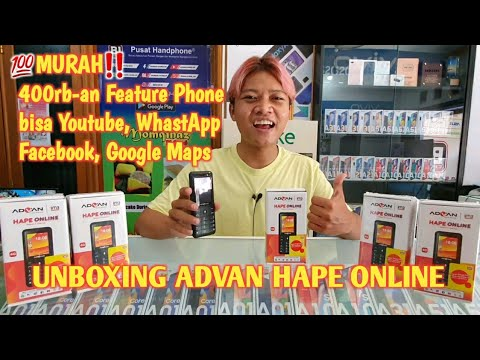 Unboxing tablet Android Advan murah cuma 200 ribu.