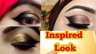 I Tried Following #zainabnuman Barat INSPIRED LOOK | Simple & Easy Look In Two Steps