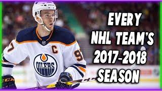 EVERY NHL TEAM'S 2017-2018 SEASON SUMMARIZED IN ONE SENTENCE EACH!
