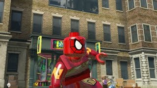 Lego Marvel Superheroes Iron Spider (Spider-Man) Custom Character