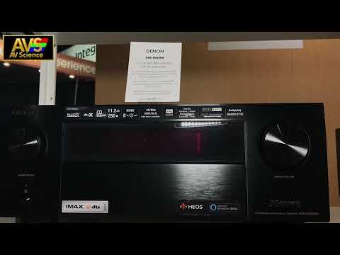 Denon AVR-X3500H videos (Meet Gadget)