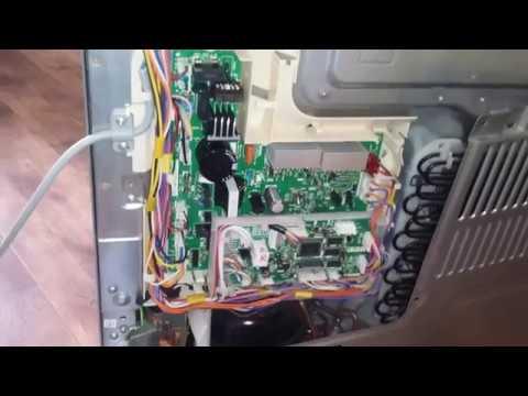 Ремонт Холодильника Тошиба (TOSHIBA) GR-L42. Замена модуля управления.