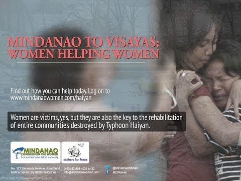 Mindanao Commission on Women on Typhoon Haiyan