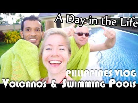 VOLCANOS & SWIMMING POOLS IN TAGAYTAY - PHILIPPINES DAILY VLOG (ADITL EP102)
