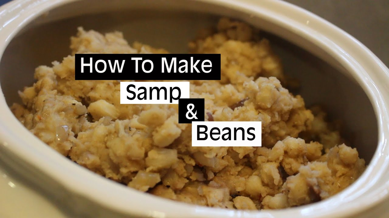 How to make samp beans pap culture youtube how to make samp beans pap culture forumfinder Images