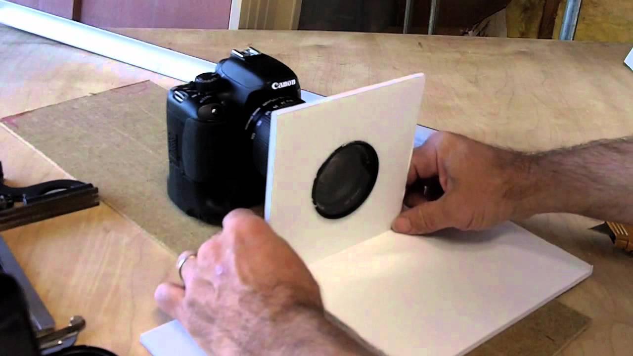 $2 DIY HDSLR Lens Hood - YouTube