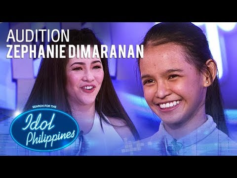 Zephanie Dimaranan - Forever's Not Enough   Idol Philippines Auditions 2019
