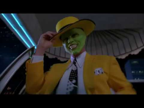 THE MASK (1994) Mask bank robbery and dancing 2019