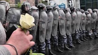 «Մենք դուրս ենք եկել խաղաղ ցույցի». Ցուցարարները փակել են Կոմիտաս-Վաղարշյան խաչմերուկը