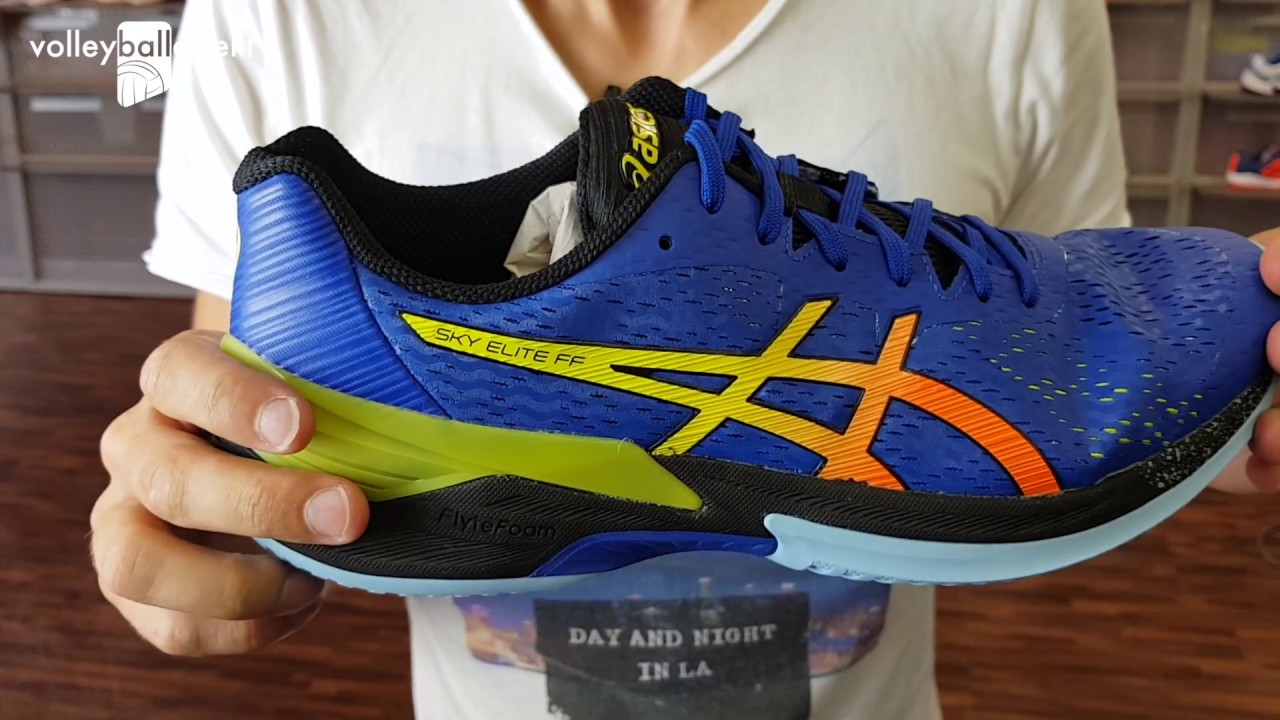 Review Asics Sky Elite & On Feet Video - Volleyballschuhe 2019/20