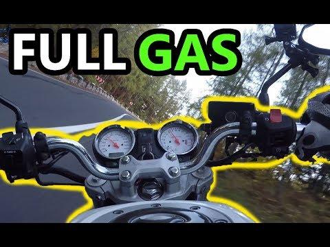 (Motor)Bike Honda Hornet Test Ride