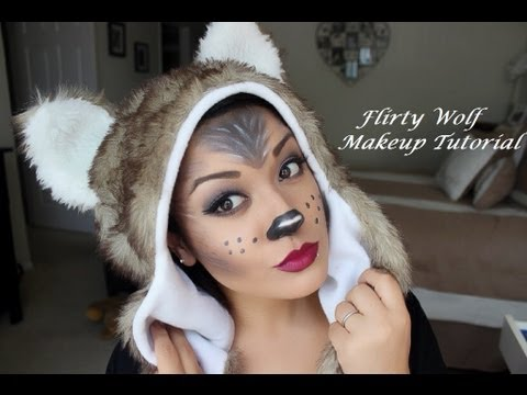 Flirty Wolf Makeup Tutorial - YouTube