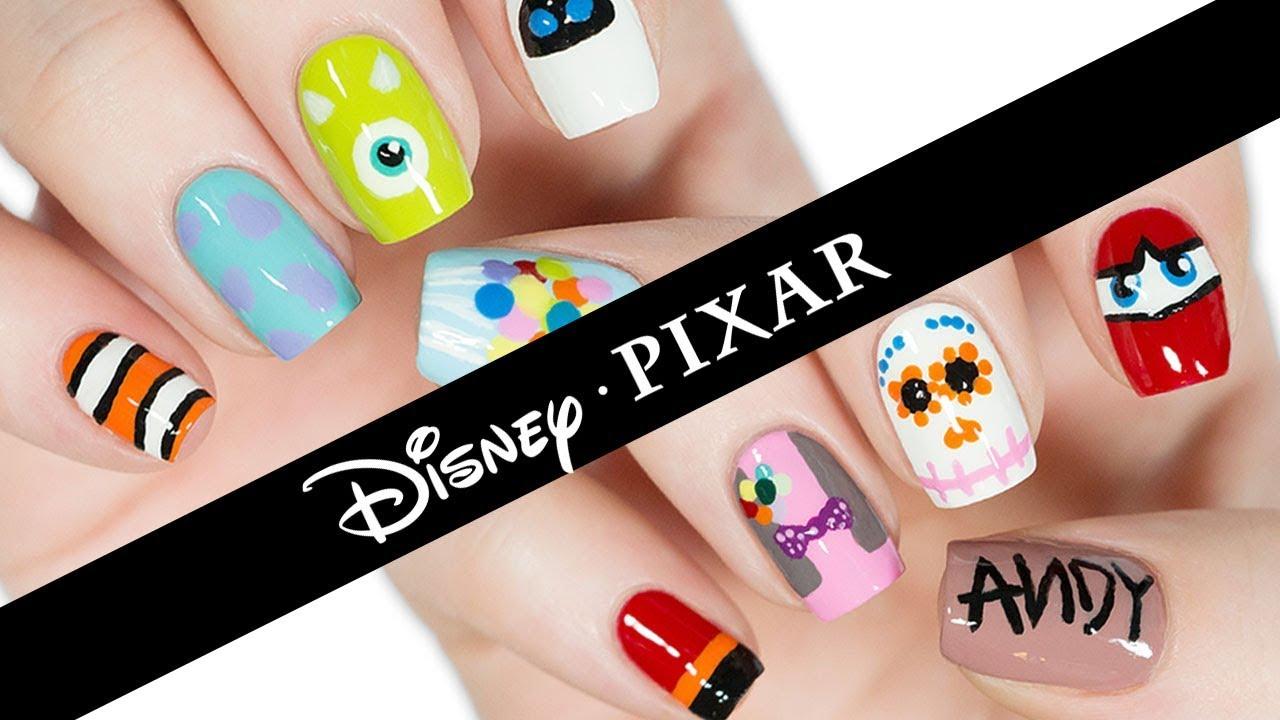 10 Disney Pixar Nail Art Designs The Ultimate Guide Youtube