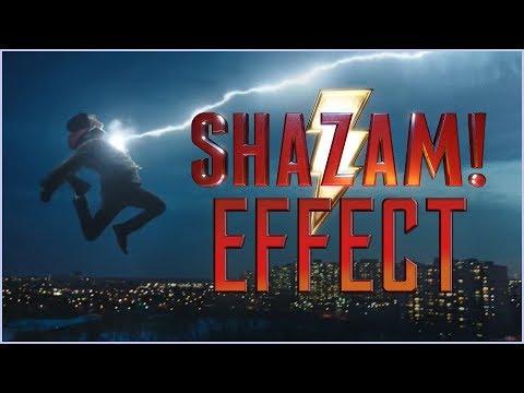 Shazam Transformation Effect