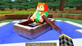 Как в Майнкрафт сделать лодку и бассейн? Обзор игры со Светой.