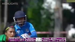 India vs Pakistan  - Women T20 Asia Cup 2018 - Highlights