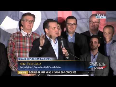 Mary Anna Mancuso Discusses Ted Cruz: 02/25/16