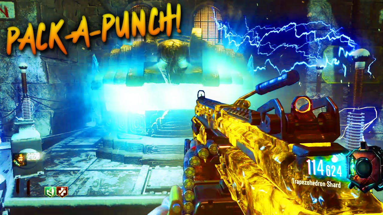 Black Ops 3 Zombies Der Eisenrache Pack A Punch Tutorial Youtube