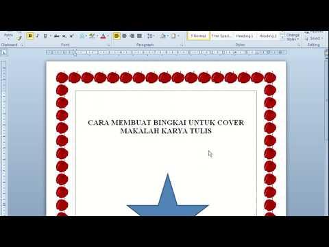 Cara Membuat Bingkai Border Ms Words 2010