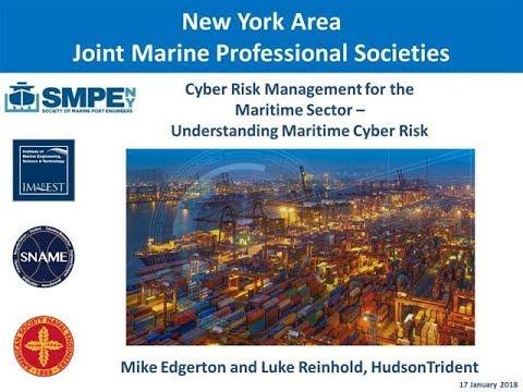 Cyber Risk Management for the Maritime Sector - Understanding Maritime Cyber Risk