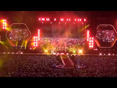 Coldplay - Fix You live in Seoul Korea 2017 0416