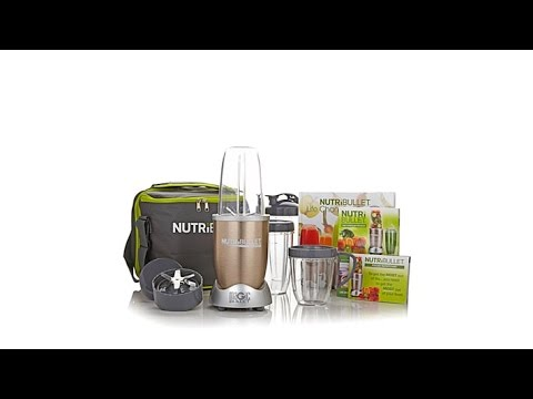 NutriBullet Pro 900 Series with Recipe Book   Carry Bag