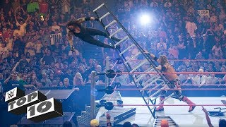 Top10 pha ngã thốn đến tận rốn của các siêu sao WWE