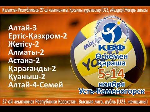 Irtysh-Kazchrome-2 VC - Altay-4 (Semey). 1st tour of High League of Kazakhstan among second teams