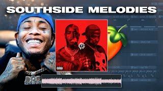 How To Make HARD Melodies Like Southside (Doe Boy, 808 Mafia)   FL Studio 20 Tutorial