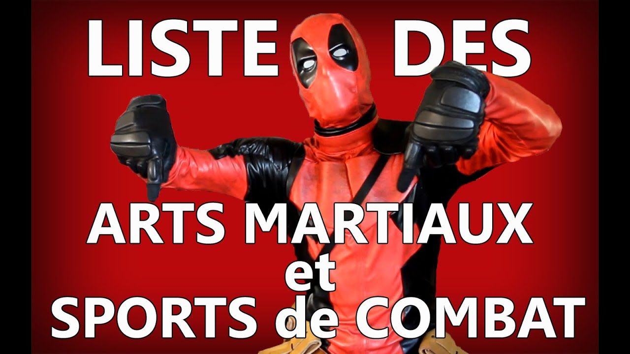 wadesan deadpool liste des arts martiaux et sports de combat youtube. Black Bedroom Furniture Sets. Home Design Ideas