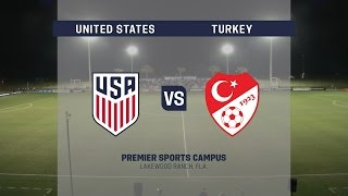 Live Video: 2016 Nike Friendlies: USA vs. Turkey