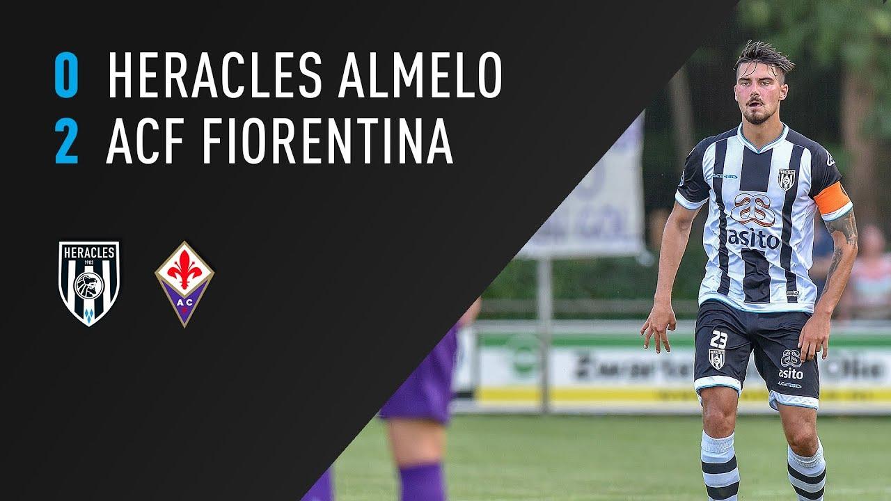 Heracles Almelo - ACF Fiorentina 0-2 | 01-08-2018 | Samenvatting