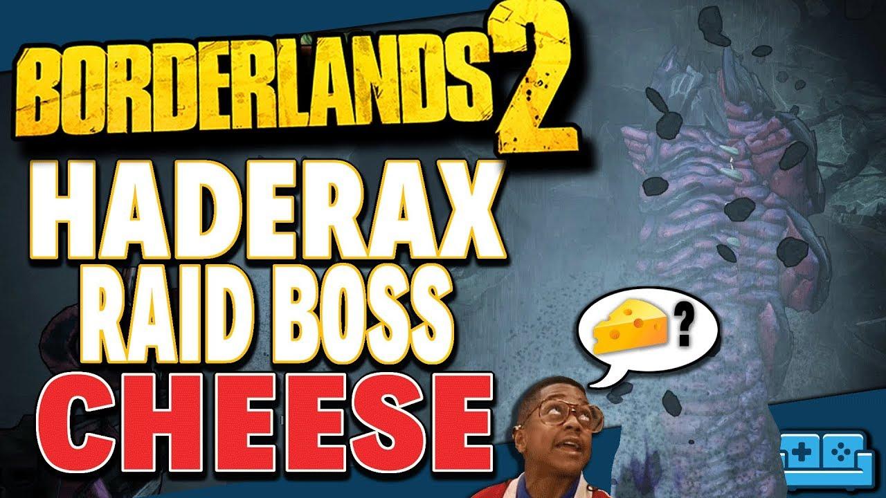 Borderlands 2: Commander Lilith DLC - How To Kill Haderax