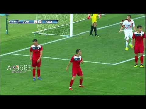 اهداف مباراة الاردن وقيرغيزستان اقصائيات كاس اسيا تحت 23 سنة