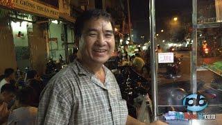 Gặp lại ông Giáp bán bò bía tươi, trên đường Cô Giang, khu phố Tây, Sài Gòn