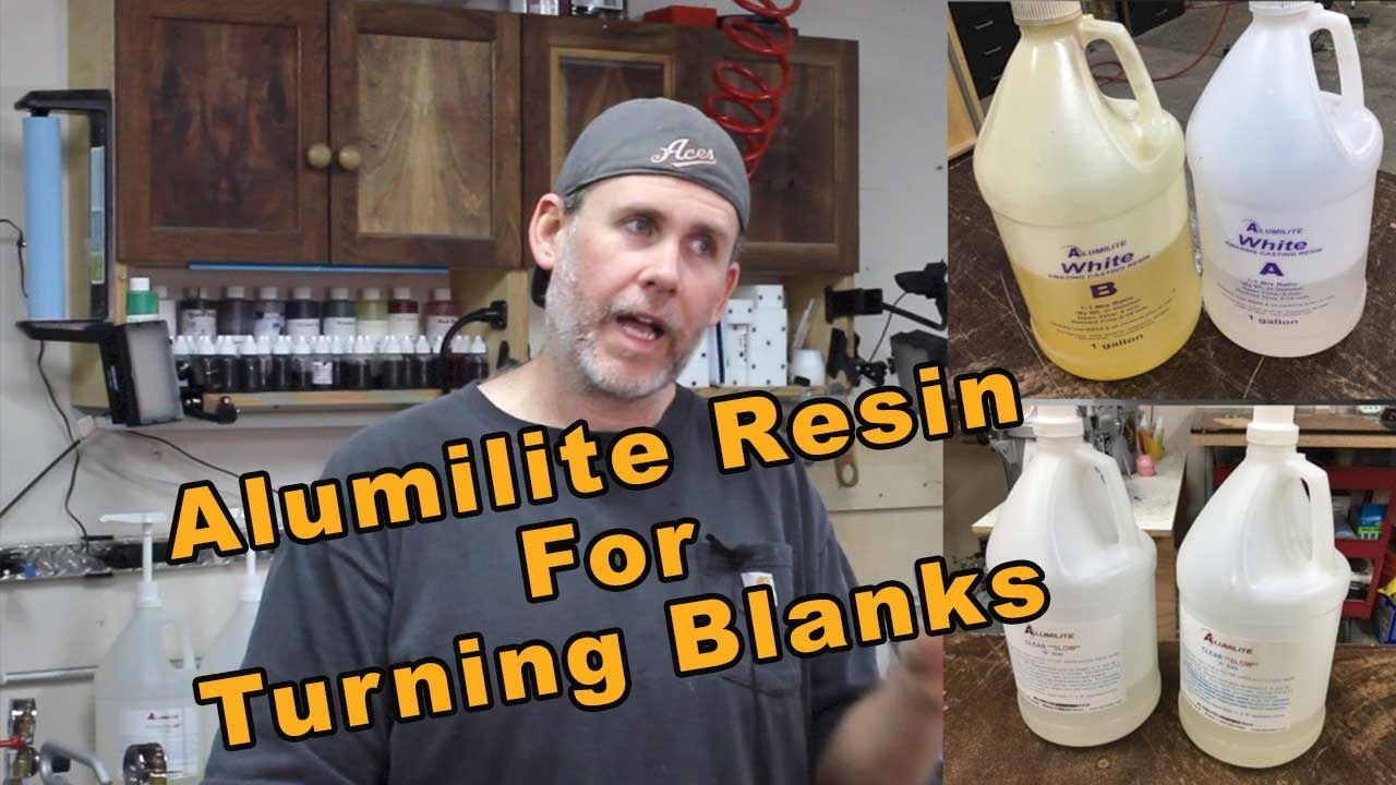 Which Alumilite Casting Resin is Best for Pen Turning Blanks? - What I Use