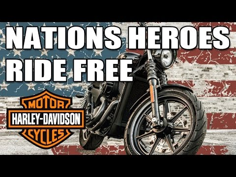 Free H D Riding Academy For All First Responders