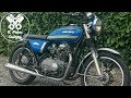 Kawasaki z400 brat style build