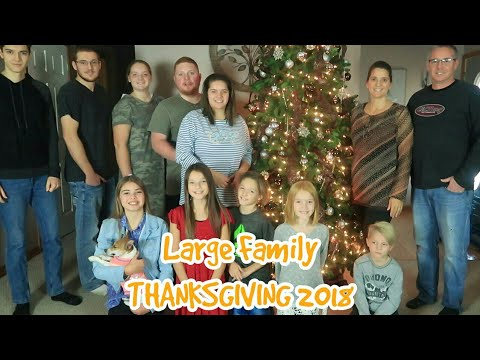 Large family THANKSGIVING 2018...Cook and Serve with us!