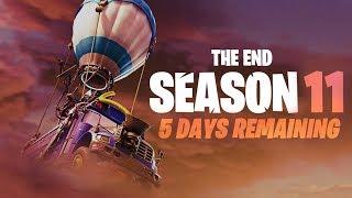 FORTNITE SEASON 11 - THE END (5 DAYS LEFT)