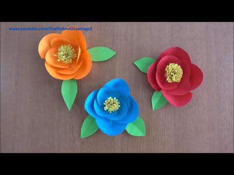 Easy beautiful paper flower diy flower making tutorial step easy beautiful paper flower diy flower making tutorial step by step instructions mightylinksfo