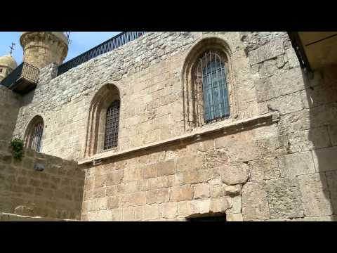 Short glimpses into the Last Supper Room - Israel private tour