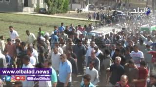 الفيوم تشيع جنازة شهيد الإرهاب بالشيخ زويد .. فيديو وصور