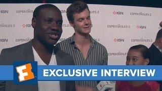 Exclusive Interviews Dayo Okeniyi Jack Quaid and more  Comic Con  Fandangomovies