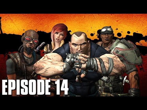 Borderlands Live Let's Play - Episode 14 (Final) w/ Webcam