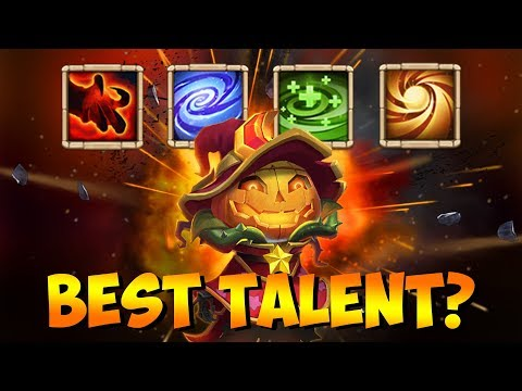 Testing Pumpkin Duke TALENTS Which Is BEST Castle Clash