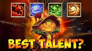 Testing Pumpkin Duke TALENTS Which is BEST Castle Clash by jtisallbusiness