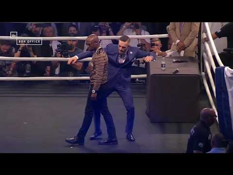 Thumbnail: Conor McGregor Pretends To Spank Floyd Mayweather | ESPN